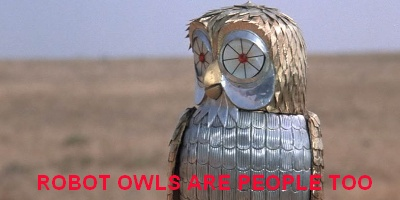 clash of the titans - owls in cinema