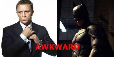 Top 10 reasons why Batman is better than James Bond