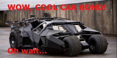 Batman vs Bond