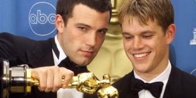Ben Affleck and Matt Damon, Good Will Huntin, 1997, Oscars