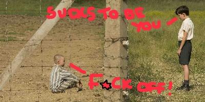 Boy In the Striped Pajamas, creepy kids in film