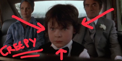 The Omen, creepy kids in film