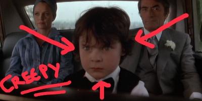 The Omen, creepy kids in film