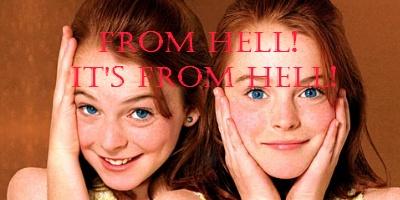 The parent Trap, creepy kids in film