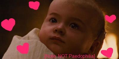 Twilight Breaking Dawn Part 2, baby, creepy kids in films