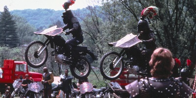 Knightriders, George A. Romero, review