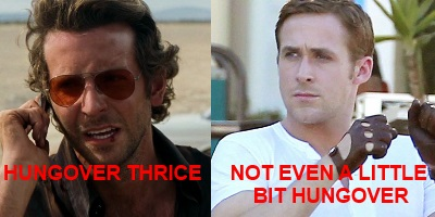 Bradley Cooper vs Ryan Gosling